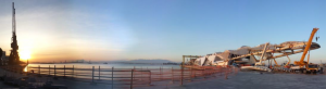 Monitoramento e controle das tensões mecânicas atuantes na estrutura metálica de cobertura em balanço do Museu do Amanhã durante seu descimbramento – Rio de Janeiro – Brasil